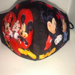 Mickey & Minnie face mask